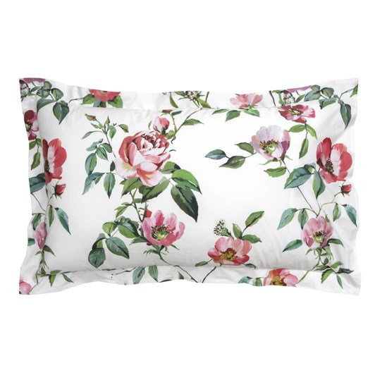 Wallace Cotton Rose Anna Lodge Pillowcase Set