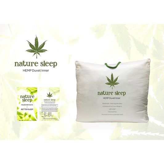 Natures Bedding Co Hemp Duvet Inner 500gsm
