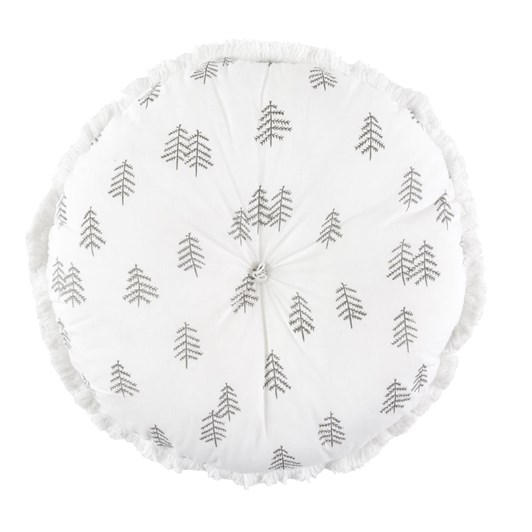 Wallace Cotton Woodlands Round Cushion