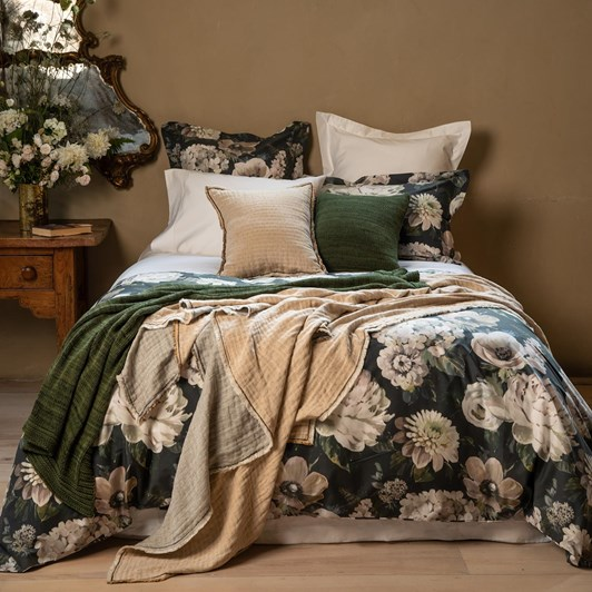 Wallace Cotton Amarante Duvet Set
