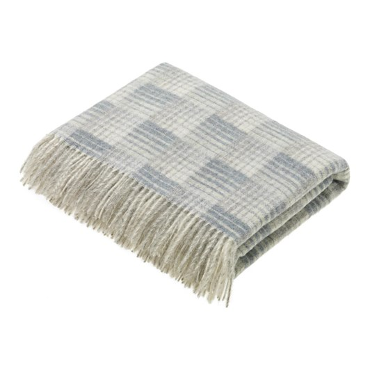 Bronte Transitional Slate Castle Wool Throw