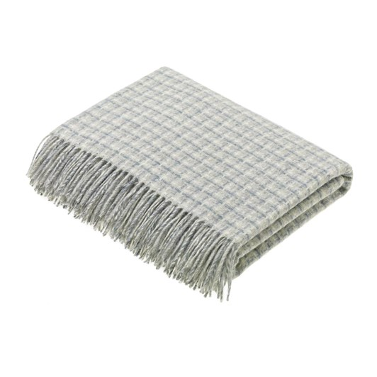 Bronte Transitional Slate Villa Wool Throw