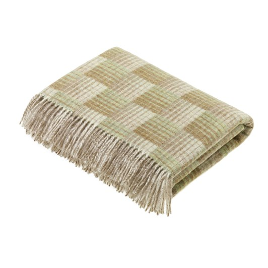 Bronte Transitional Travertine Castle Wool Throw
