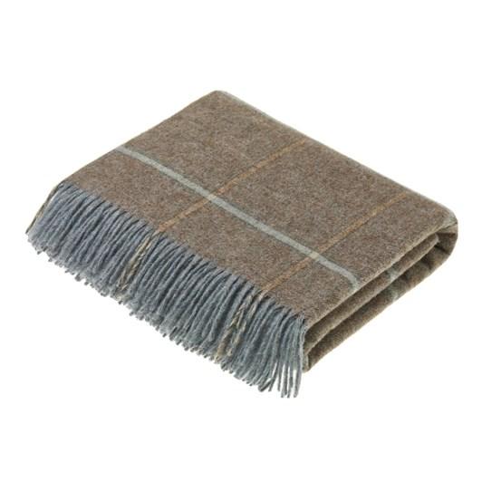 Bronte Kingham Eau De Nil Wool Throw