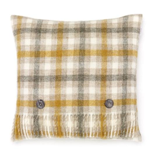 Bronte Bilbury Natural Check Cushion