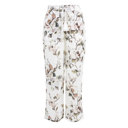 Wallace Cotton Magnolia PJ Pant With Wide Leg Cuff