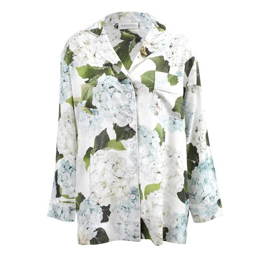 Wallace Cotton Hydrangea Blue PJ Shirt