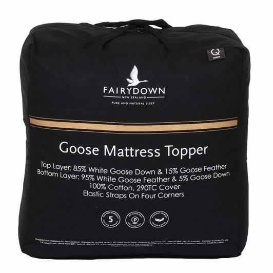 Fairydown Goose Mattress Topper