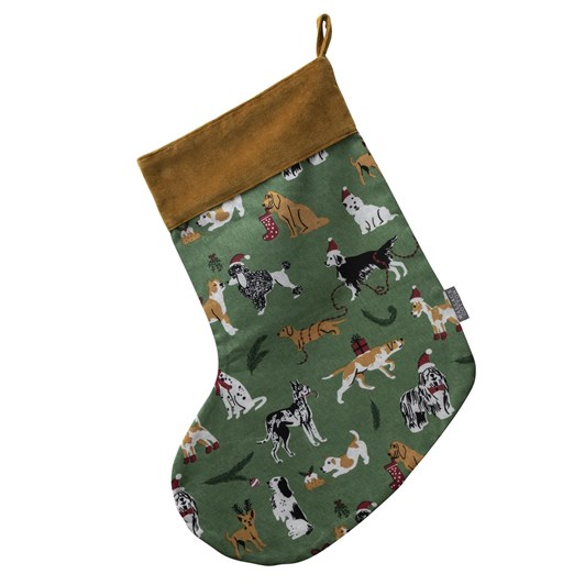 Wallace Cotton Dogs Stocking
