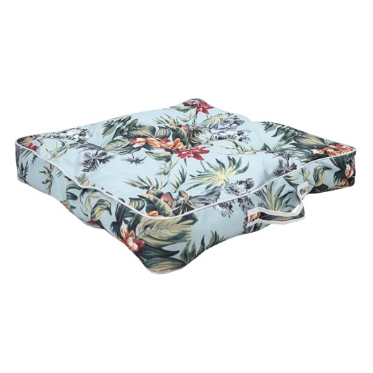 Wallace Cotton Hamana Floral Box Seat