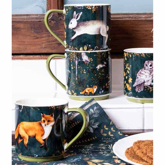 MM Linen Briar Mugs Set Of 4