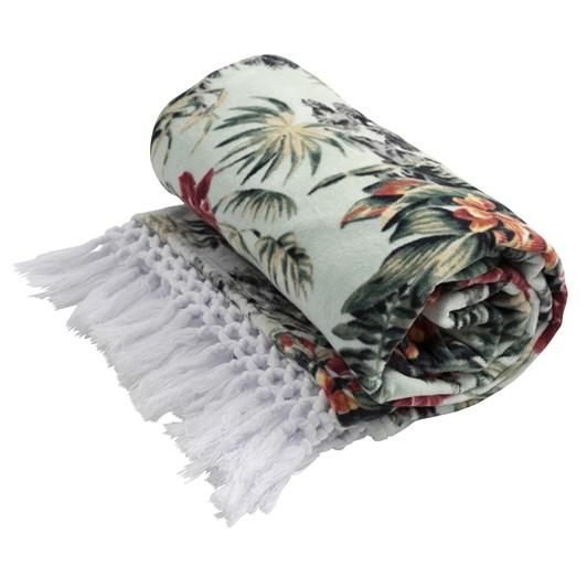 Wallace Cotton Hamana Floral Beach Towel