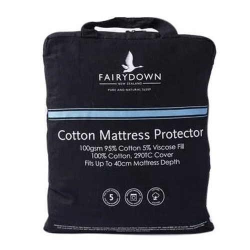 Fairydown Cotton Mattress Protector