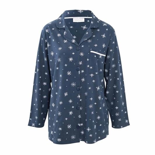 Wallace Cotton Snowdrift PJ Shirt