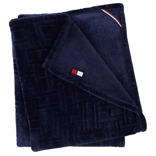 Tommy Hilfiger Grid Flag Blanket