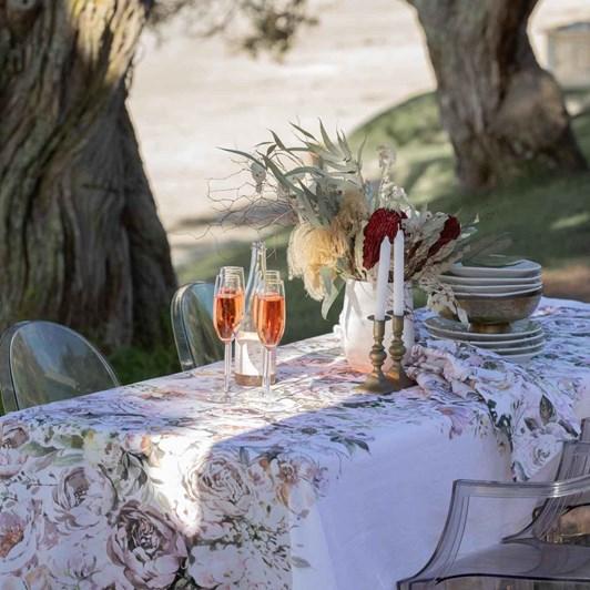 Wallace Cotton Emily Tablecloth