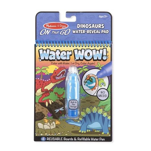 Melissa& Doug Water Wow Dinosaur Moq6