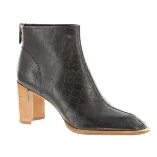 Neo Bite Square Toe Heeled Ankle Boot