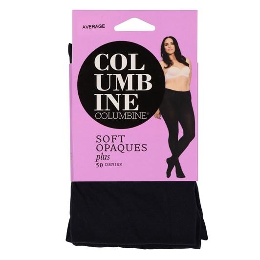 Columbine Pretty Plus 50 Denier Opaque Pantihose