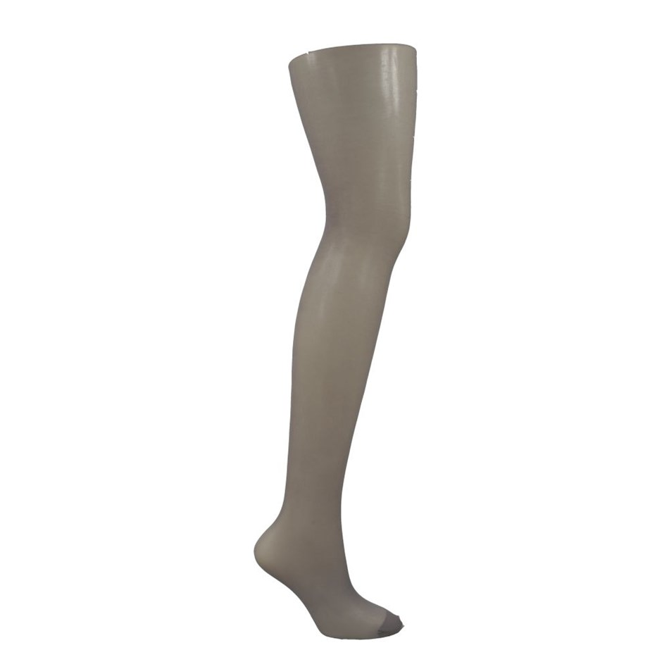 Columbine Sheer Panel Gusset Pantihose - misty