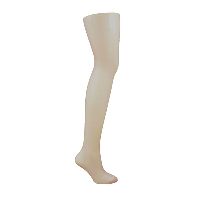 Columbine Sheer Panel Gusset Pantihose - silk