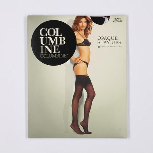 Columbine Opaque 40 Denier Stay Up Stockings