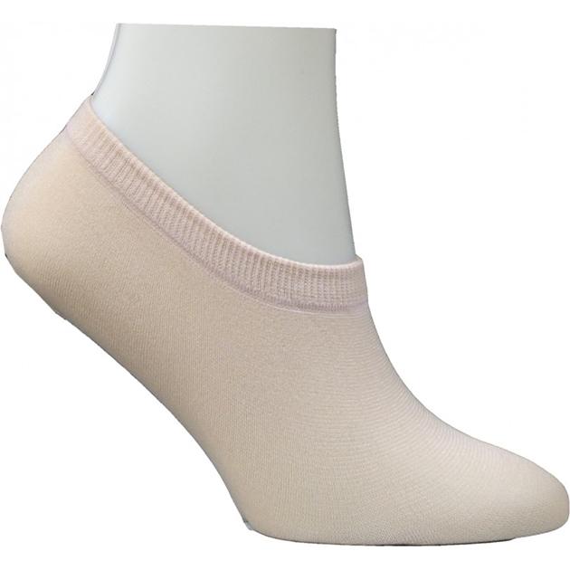 Columbine Cotton Blend Footlets - sand