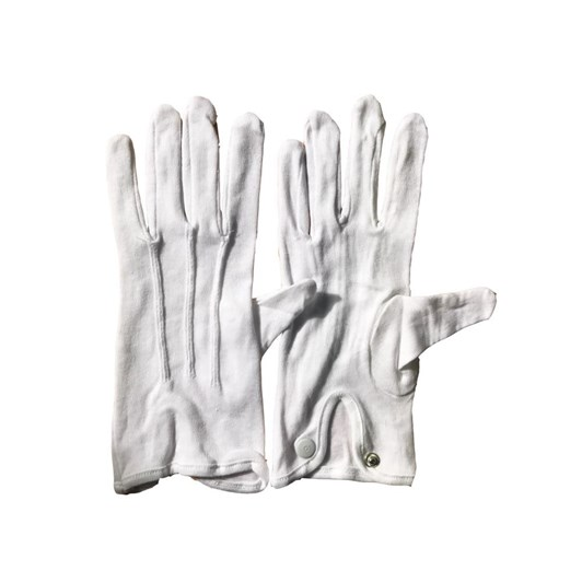 Columbine White Hosiery Gloves