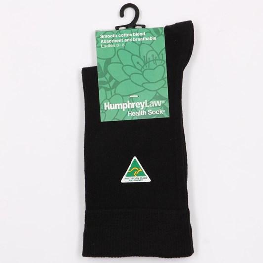 Plain Knit Cotton Health Socks
