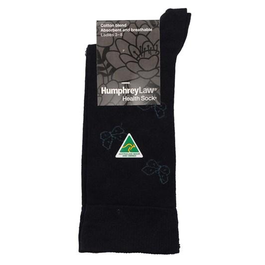 Mercerised Cotton Butterfly Health Socks