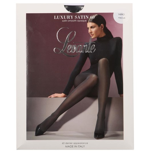 Levante Luxury Satin Opaque Pantihose