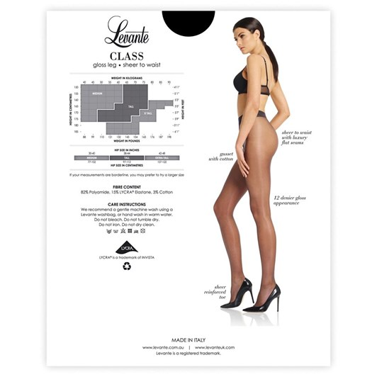 Levante Class Sheer to Waist Pantihose