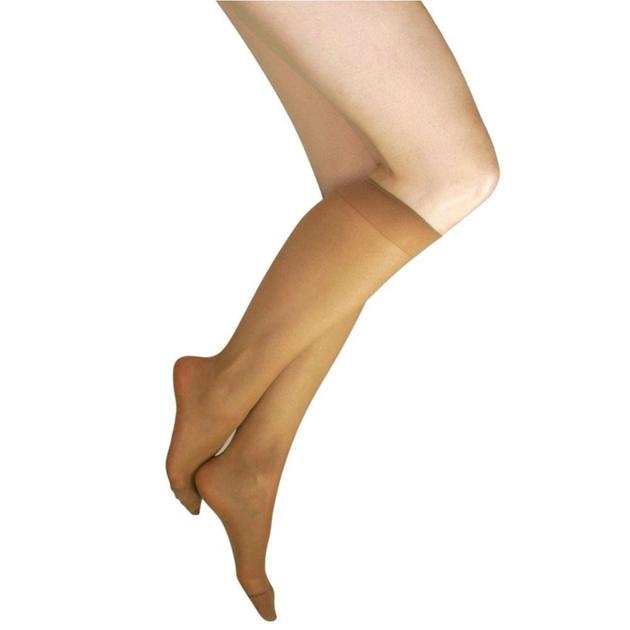 Kayser Plus Sheer Support Knee High 2 Pack - nbg nubeige