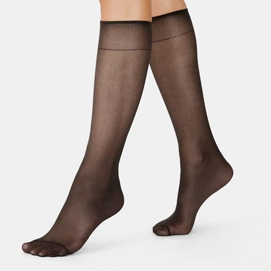 Kayser Plus Sheer Support Knee High 2 Pack