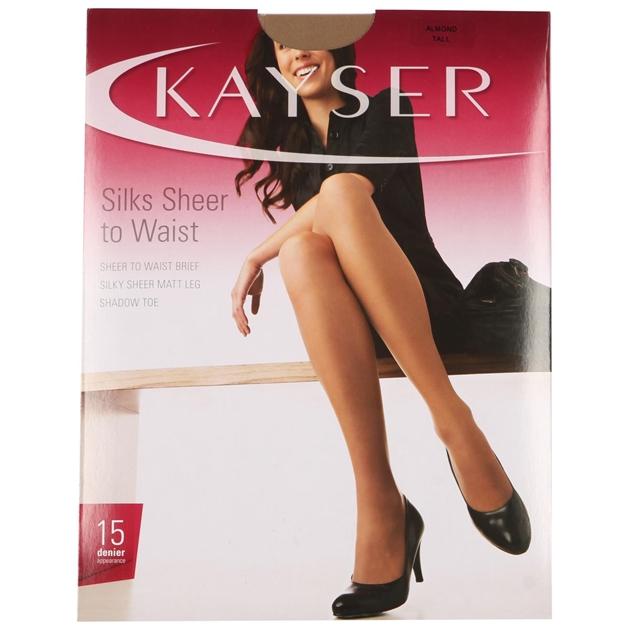 Kayser Silks Sheer to Waist - alm - almond