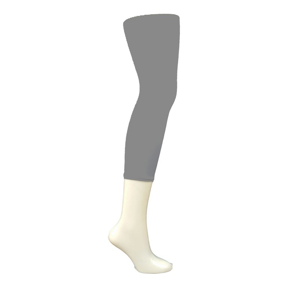 Columbine Capri Tights - mid grey