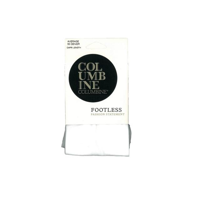 Columbine Capri Tights - white