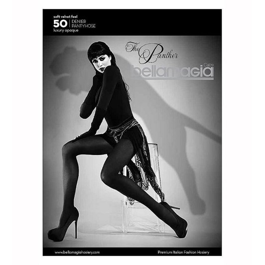 Bellamagia The Panther Opaque Tight 50 Denier