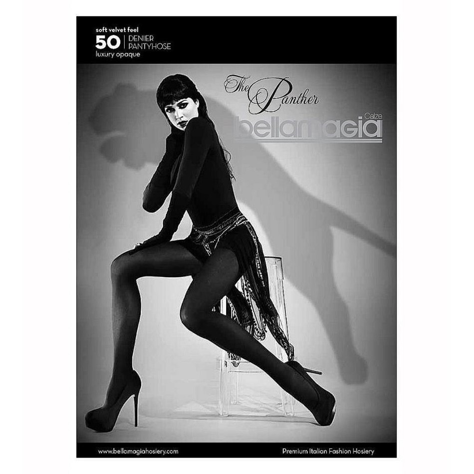 Bellamagia The Panther Opaque Tight 50 Denier - black