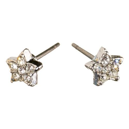Charm Silver Crystal Star