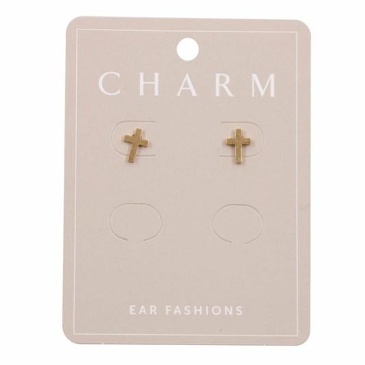 Charm Gold Cross