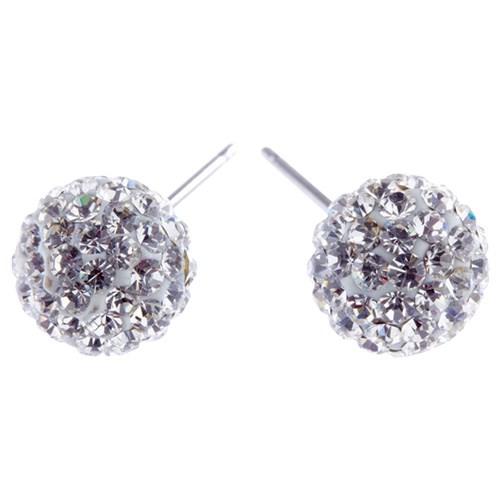 Charm Sparkle Ball Clear Crystals