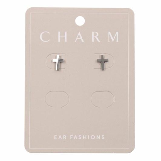 Charm Silver Cross