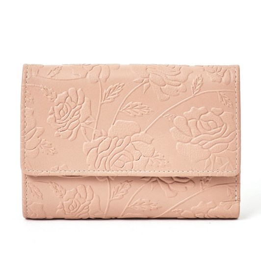 Briarwood Ibby Leather Embossed Wallet
