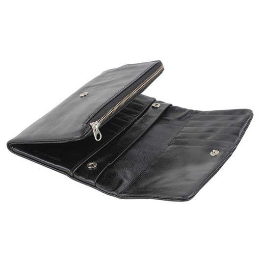 Status Anxiety Audrey Black Wallet