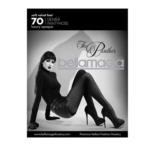 Bellamagia The Panther 70 Denier Opaque Tights