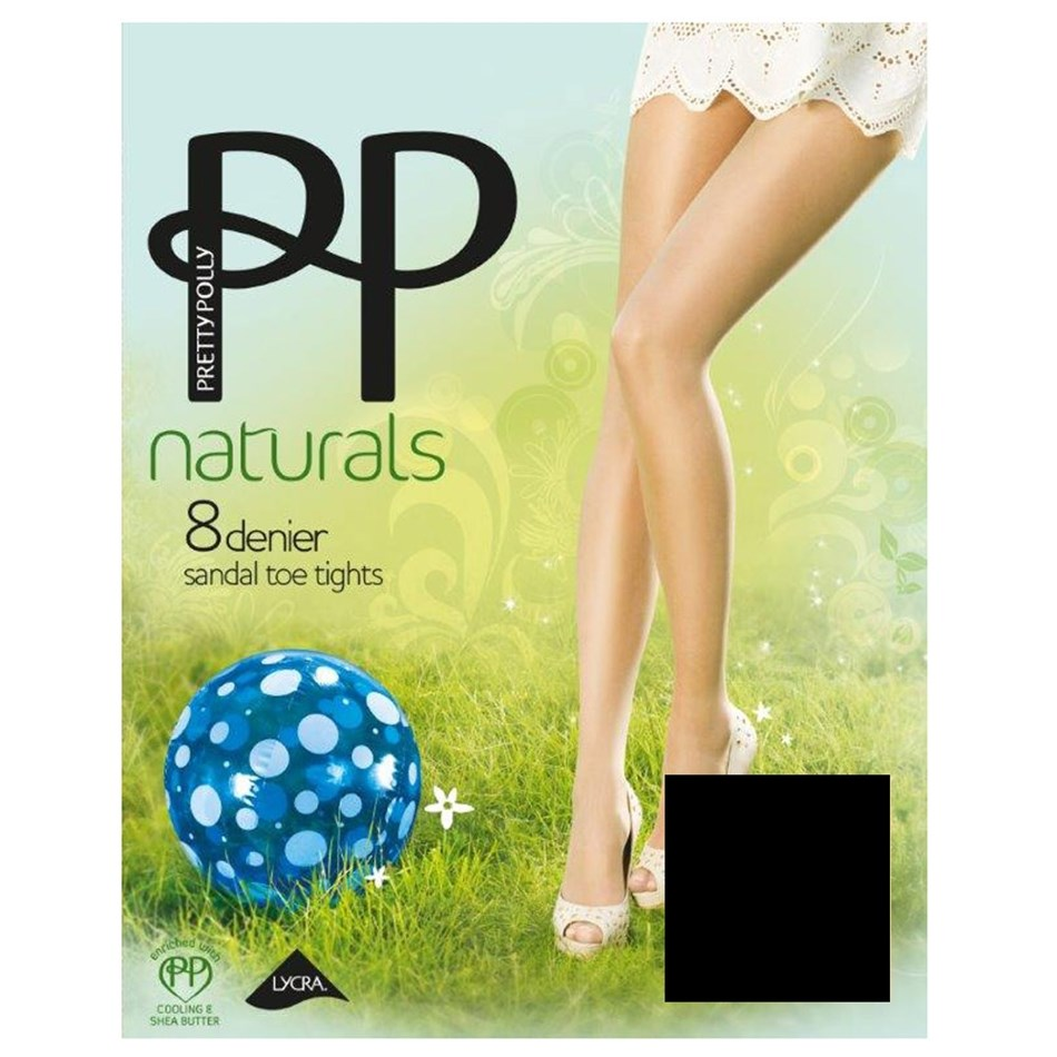Pretty Polly Sandal Toe -