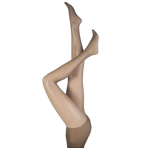 Pretty Polly Sandal Toe - almost ebony