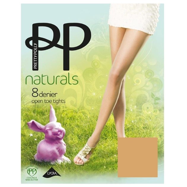 Pretty Polly Open Toe - sunkissed