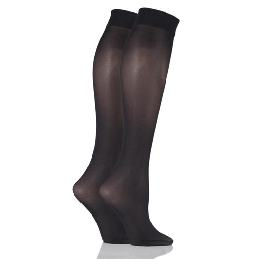 Pretty Polly Knee High - 2Pairs